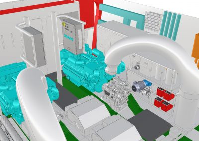 Engine Room 3d Layout