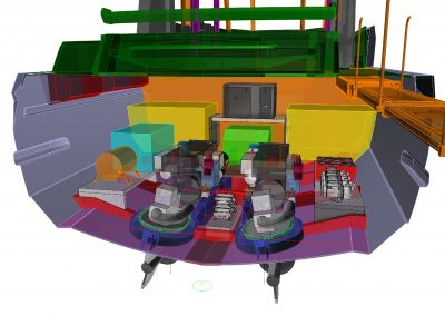 K50 - Engine Room 3d Layout